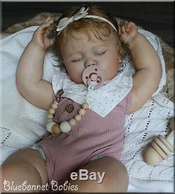 Bluebonnet Babies REBORN Toddler/Baby 7 month old June Asleep RealBorn