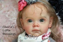 CHERIE'S LITTLE BLESSINGSRebornDollBabySOLD OUTADORABLEMAGGINatali Blick