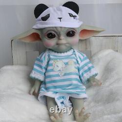COSDOLL Baby Yoda Dolls Silicone Elf doll Full Silicone Reborn Baby