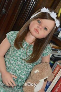 CUSTOM ORDER Reborn Doll Toddler Child Angelica by Reva Schick