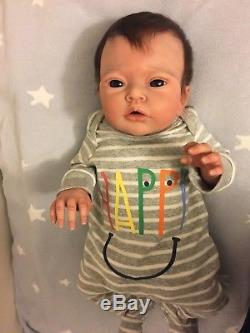 CUTE Full Body Silicone Baby Liam by Elena Westbrook