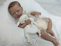 Cameo Full Body Solid Silicone baby girl by Romie Strydom Eco20