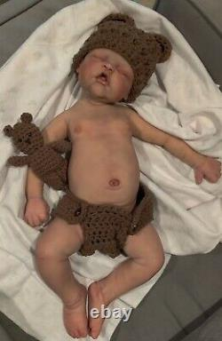 Cancelling auctionFull body silicone baby boy Scout by Jennifer Sussman