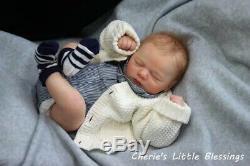 Cherie's Little BlessingsReborn DollBabyBoyRealBornBrooklyn Asleep