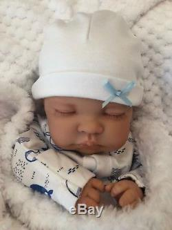 Cherish Dolls Childs Reborn Starter Baby Brad 18 2lb 2oz New Uk Sleeping Baby
