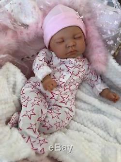 Cherish Dolls Childs Reborn Starter Baby Kitty 18 2lb 2oz New Uk Sleeping
