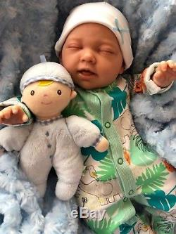 Cherish Dolls Childs Reborn Starter Baby Nial 18 2lb 2oz New Uk Sleeping Baby