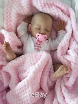 Cherish Dolls New Reborn Baby Lulu Fake Babies Realistic 18 Real Lifelike Child