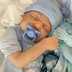 Cherish Dolls Reborn Baby Doll Realistic 22 Newborn Ethan Uk