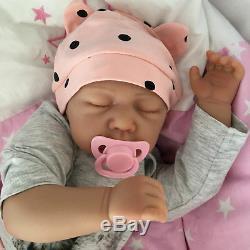 Cherish Dolls Reborn Doll Baby Girl April Realistic 18 Real Lifelike Childs