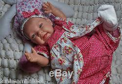 Child Friendly Ce Tested 20 New Reborn Realistic Newborn Doll Blue Eyed Baby