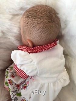Childrens Kids Reborn Baby Doll Real Girl Alice Realistic 18 Lifelike Uk Hair