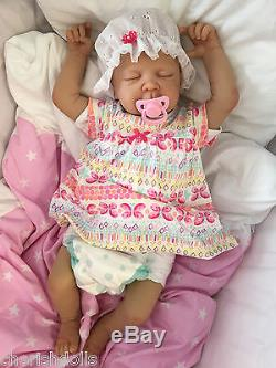 Childrens Reborn Doll Real Baby Girl Jess Realistic 22 Newborn Lifelike Uk
