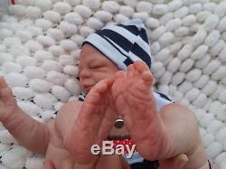 Cindy Musgrove Sunbeambabies Precious Gift Reborn Baby Boy Soft Silicone Vinyl