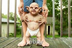 Custom Lifesize Poseable Realistic Silicone Vampire Baby Reborn