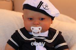 Custom Made Ooak Baby Girl / Boy Realborn Joseph Awake By Artist Marie With Coa