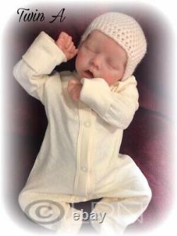 Custom Made Reborn Doll Twin A Bonnie Brown, ready in 8-10 weeks