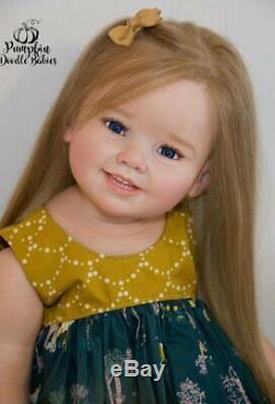 Custom Order Cammi by Ping Lau Reborn Doll Baby Girl or Boy Toddler Human Hair