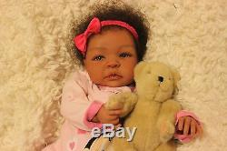 Custom Order Ethnic Biracial AA reborn baby doll