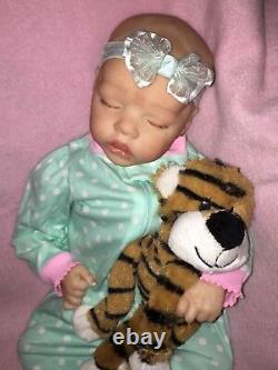 Custom Order Reborn Twin A 17 doll Bonnie Brown Reborns by Jill
