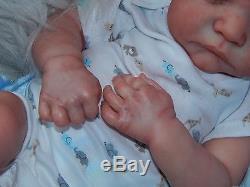 Custom Reborn Baby LeviBonnie BrownAlicia's Angels