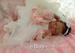 Custom Reborn Baby doll SUMMER RAIN 19 Full Limbs Free US Ground Shipping