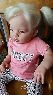 Custom Reborn Toddler Arianna8-12 Weeks To Completemia Maria's Nursery