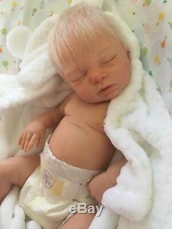 Custom made reborn newborn fake baby lifelike doll silicone vinyl full body xmas