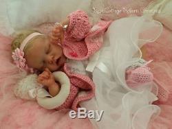 Custom reborn baby doll TWIN A Full Legs
