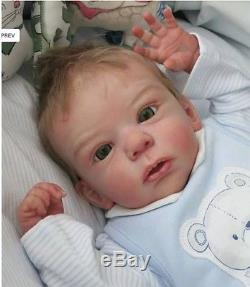 D806 Lovely Reborn Baby Boy Doll Child Friendly H 22 inch Tailor Made