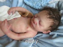 DARLING FULL Body Solid ECOFLEX SILICONE Baby BOY Doll- Larger PREEMIE