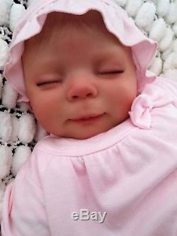 Donna Rubert 7lbs Reborn Baby Toddler Doll & Ragdoll Soft Silicone Sunbeambabies