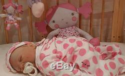 Donna Rubert Soft Silicone Vinyl Reborn Baby Girl Doll Newborn Sunbeambabies