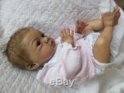 ETHNIC Reborn Baby GIRL Doll MAIKE by GUDRUN LEGLER Eli Habibi