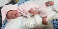 Ecoflex 20 Reborn Full Silicone baby Girl