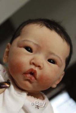 Enlai Full Body Solid Silicone Newborn Asian Baby Girl Andrea Arcello Eco 20