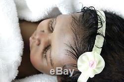 Ethnic AA reborn-Lakiah Prototype #2 prototype Gaby Gail sleep by Claire Taylor