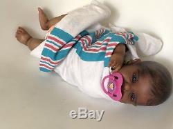 Ethnic Reborn Baby Doll Lidy By Didy Jackobsen