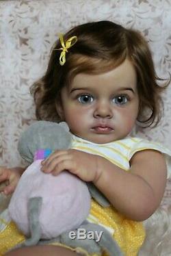 Ethnic Reborn baby girlTutti by Natali BlickGolden Babies Nurserylimitreal