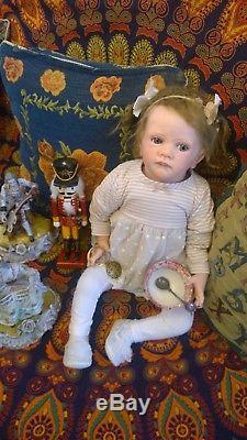 FRIDA Pari's Alley Reborn baby Prototype Artist Crystal SOLD KAROLA WEGERICH