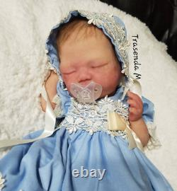 FULL BODY SILICONE BABY DRINK N WET- Rumi #3 Created Completely by Jennie Lee
