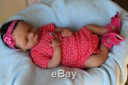FULL BODY SILICONE BABY Girl 0-3 months life size