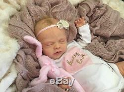 FULL BODY SILICONE Baby Girl Drink and Wet Reborn Art Doll