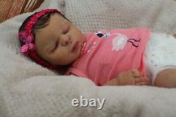 FULL BODY SILICONE new born BABY GIRL Drink and wet