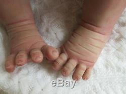 FULL Body ECOFLEX 20 SILICONE Baby GIRL- LIANA by ELENA WESTBROOK