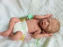 FULL Body ECOFLEX SILICONE Baby GIRL Doll MADDILYN TRULY Preemie
