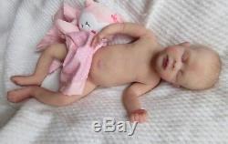 FULL Body SOLID SILICONE DOLL- KHALEESI by JADE WARNER PREEMIE Baby GIRL