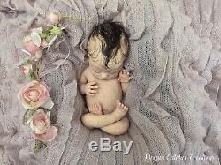 Full Body MARSHMALLOW Soft Silicone Baby DRINK & WET Reborn fb Art Doll