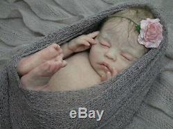 Full Body Marshmallow Soft Silicone Baby Girl Reborn fb Art Doll