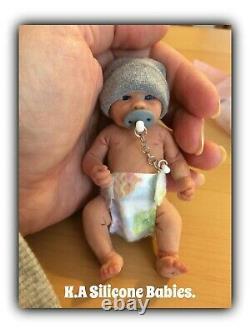 Full Body Mini Silicone Baby Boy Lucas ll
